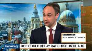 News video: BOE Could Delay Rate Hike Until August