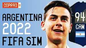 News video: Argentina Without Messi at 2022 World Cup - FIFA 18 SIM | Ep. 8