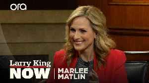 News video: What did Marlee Matlin think of 'A Quiet Place'?