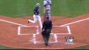 News video: Rebels score eleven runs in sixth to rout Tigers
