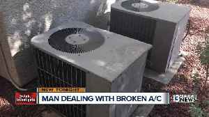 News video: Family endures near-record heat without air conditioning