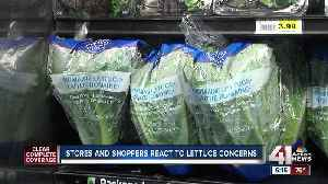 News video: Stores and shoppers react to lettuce concerns