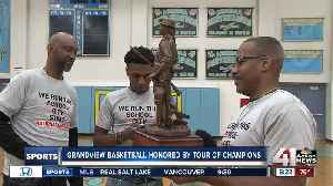 News video: Grandview's basketball team honored by Tour of Champions