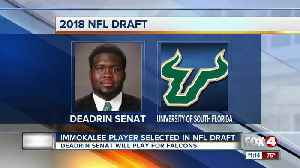 News video: Former Immokalee High School student makes it to the NFL after being drafted by the Atlanta Falcons