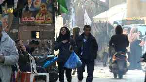 News video: UNRWA concerned about Palestinian refugees in Syria's Yarmouk