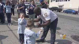 News video: Little League Brings Players, Police Together