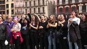 News video: Pamplona rape protests enter third day