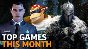 News video: New Releases - Top Games Out This Month -- May 2018