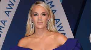 News video: Carrie Underwood Shares Close-Up Video Of Face