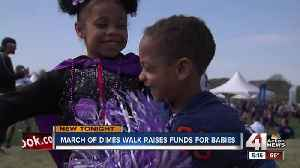 News video: March of Dimes raises over $500K for babies