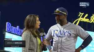 Denard Span talks about his inside-the-park home run [Video]