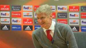 News video: Wenger hopes for peaceful last showdown with Mourinho