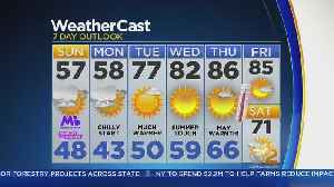 News video: Temps Bounce Back After Cool Monday