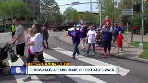 News video: Annual March for Babies event