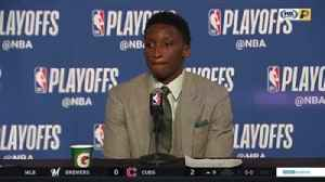 News video: Oladipo: 'Thank God for this year; it's been a blessing'