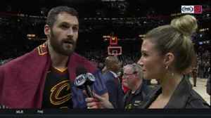 News video: Kevin Love: Cavs kept getting punched in the mouth, but weathered the storm
