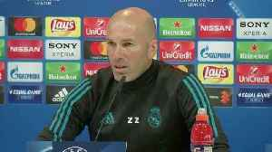 News video: Real Madrid will not hold back against Bayern, says Real's Zidane