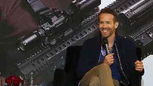 News video: Ryan Reynolds Congratulates 'The Avengers' On Their Success