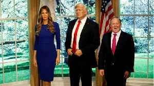 News video: Melania Trump Wax Figure Will Be Able To Speak
