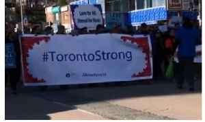News video: Toronto Marchers Honour Van Attack Victims