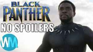 News video: Black Panther Review - Spoiler Free! Mojo @ The Movies