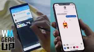 News video: iPhone X VS Samsung Galaxy Note 8 - Gear Up^
