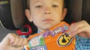 News video: Mom Fools Son With The Fresh Cheetos Prank