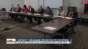 Detroit Financial Review Commission votes to end state financial oversight