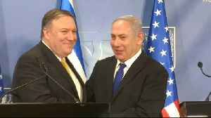 News video: Mike Pompeo: US 'deeply concerned' over Iran 'threats'