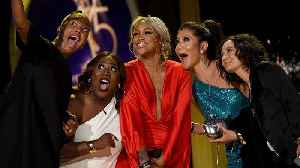 News video: 'The Talk' Cast Celebrates 'Surprise' Daytime Emmy Win (Exclusive)