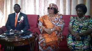 News video: Malawi's ex-president Banda returns after four-year exile