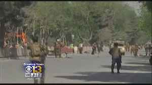 News video: Eight Journalists Among 29 Killed In Twin Afghanistan Blasts