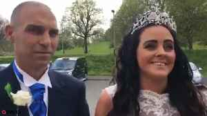 News video: Couple get married so mother can attend the day