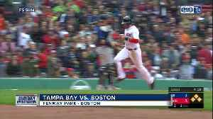 Eight is enough: Boston Red Sox snap Tampa Bay Rays' winning streak with 4-3 win