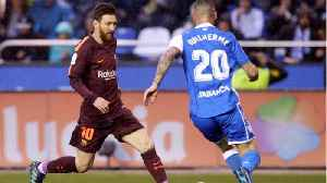 News video: Lionel Messi's Hat-Trick Clinches Title For Barca