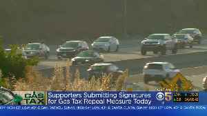 News video: Supporters Of Gas Tax Repeal Seek November Ballot Measure