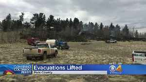 News video: County Firefighters Released From Wildland Fire That Threatened Homes