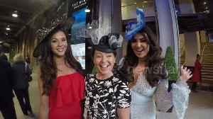 News video: Charlotte Dawson, Shelby Tribble show off Layla Leigh hats for Ascot