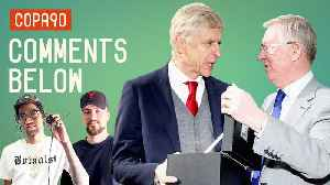 News video: Wenger's gets an Old Trafford send-off | Comments Below