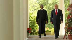 News video: Trump, Nigerian President Didn't Discuss 'Shithole' Comment