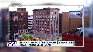 News video: Phase two of District Detroit development includes $200 million for 6 projects