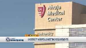 News video: Department of Health report details University Hospitals fertility clinic issues