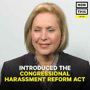 News video: New York Senator Kirsten Gillibrand On Congressional Harassment Reform Act