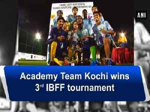 News video: Academy Team Kochi wins 3rd IBFF tournament