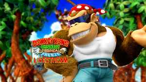 News video: Trying Out Funky Mode In Donkey Kong Country: Tropical Freeze | GameSpot LIVE Replay