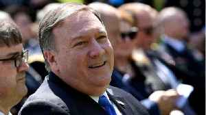 News video: Pompeo Introduces Himself To U.S. Diplomats At State Department
