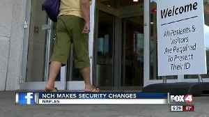News video: New hospital security measures begin at NCH Health System