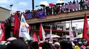 News video: Protesters Pack Metro Manila Streets for Labor Day Demonstrations