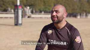 Toughest back row opponents in rugby | Japan captain Michael Leitch [Video]
