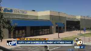 News video: San Diego gym is latest in cable-snapping fitness machine suits